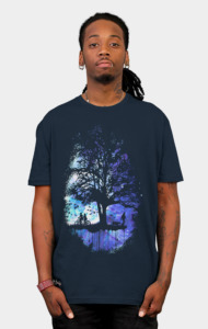 Cosmic Tree of Life T-Shirt