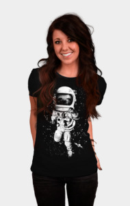 Slothed In Space T-Shirt