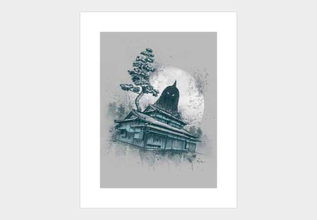 The Legend Art Print - Design By Humans