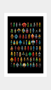 Limited Edition - Pixel Heroes Art Prints