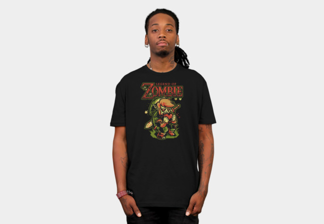 Legend of Zombie T-Shirt - Design By Humans
