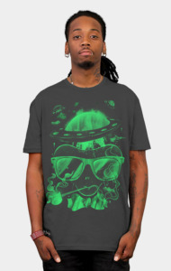 Hippie Martian T-Shirt