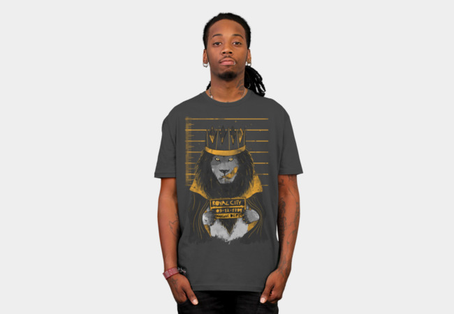 Royal Mugshot T-Shirt - Design By Humans