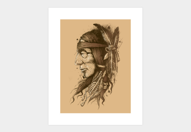 Native Upheaval Art Print - Design By Humans