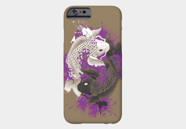 yin yang koi Phone Case - Design By Humans