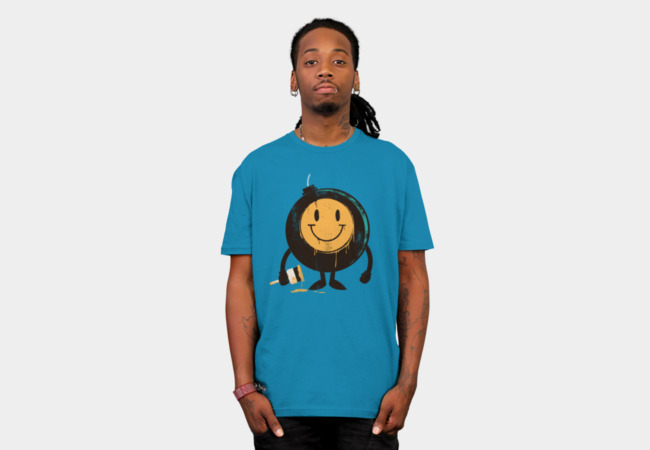 Happy Buddy T-Shirt - Design By Humans