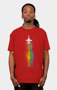Flying with colors T-Shirt