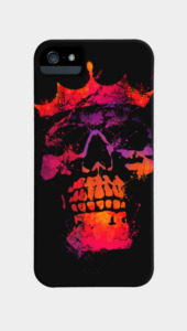 Skeleton King Phone Cases