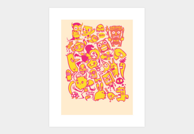 Charactertastic Art Print - Design By Humans
