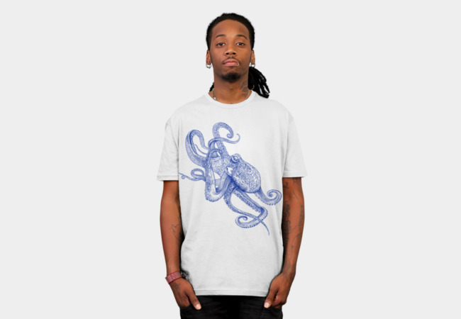 Octo T-Shirt - Design By Humans