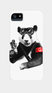 Panda Rebel Phone Cases