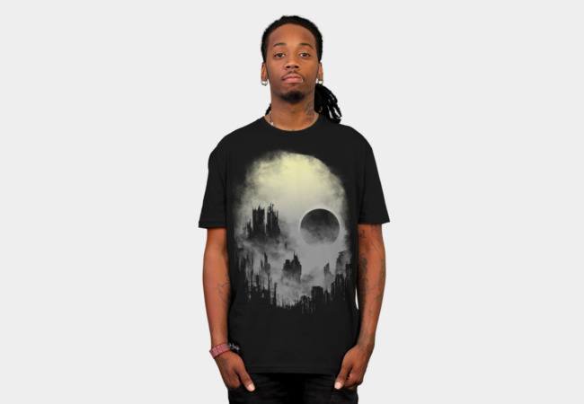 abandoned city T-Shirt - Design By Humans