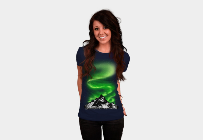 Aurora T-Shirt - Design By Humans