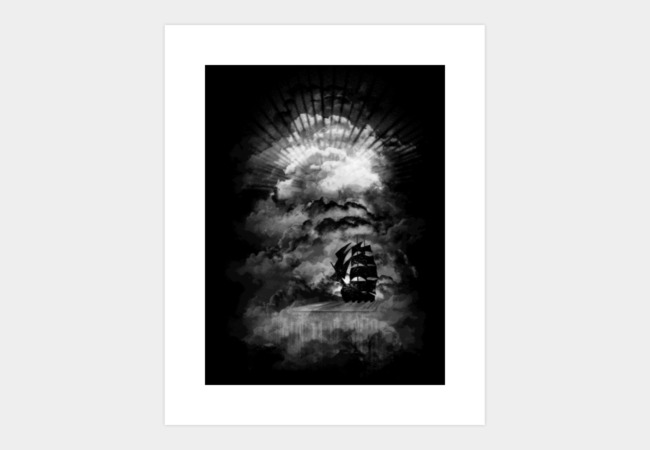 The End of the World II Art Print - Design By Humans