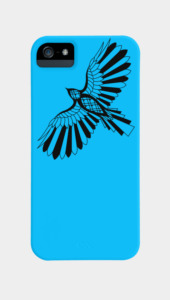 Shadow Hawk Phone Cases