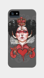 Queen of Hearts Phone Cases