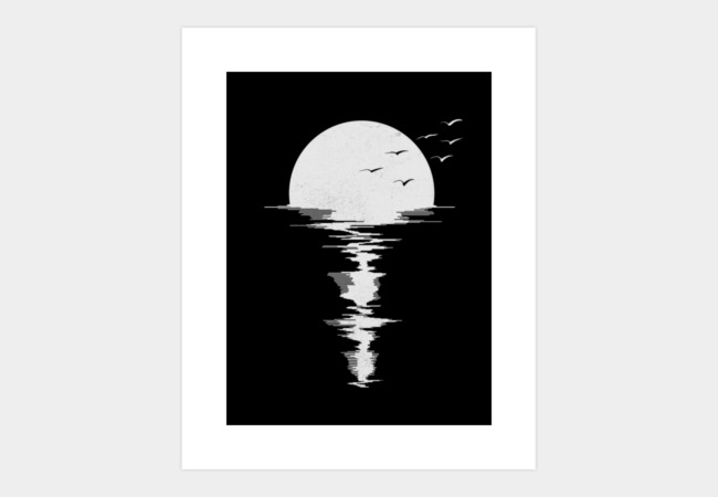 Moon Song Art Print - Design By Humans