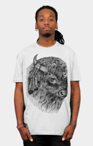 Buffalo Head T-Shirt