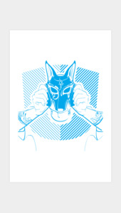 the Egyptian Mask Art Prints