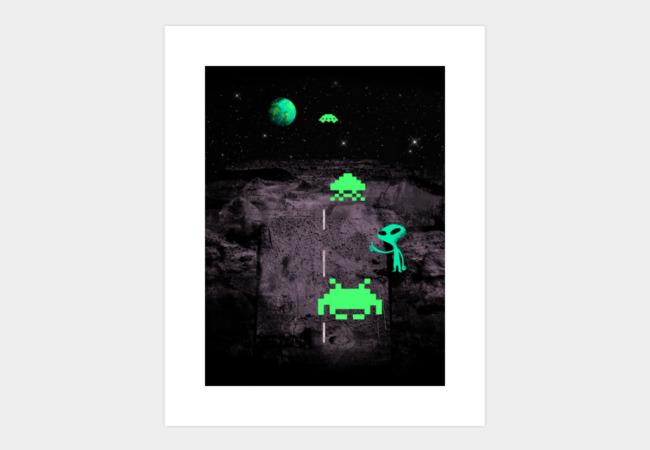 Going to Earth? Art Print - Design By Humans
