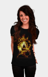 Digital Fire T-Shirt