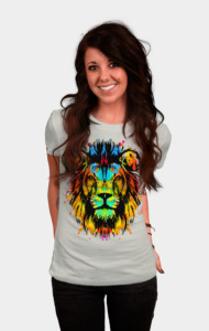 Technicolor King T-Shirt
