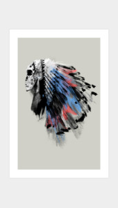 Dead Chief Art Prints