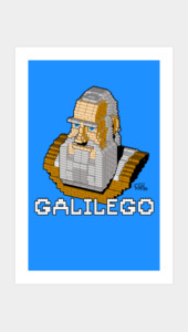 GaliLEGO Art Prints