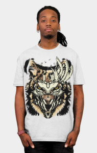 white mask T-Shirt