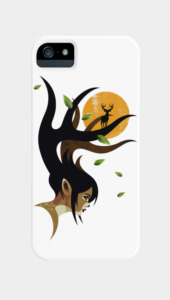 Doe Eyes Phone Cases