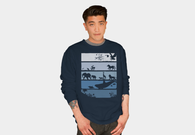 Limited Edition - Into the Wild Sweatshirt - Design By Humans