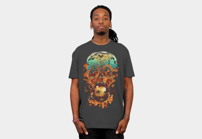Disintegrate T-Shirt - Design By Humans