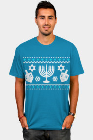 Funny Hanukkah Ugly Holiday Sweater