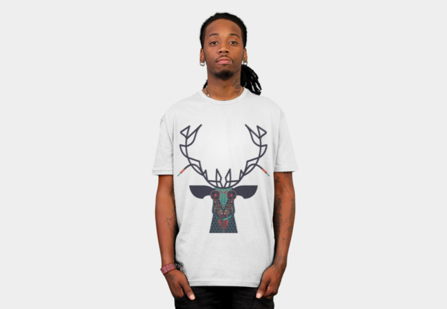 DJ Deer T-Shirt - Design By Humans