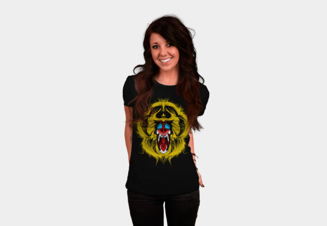 Big Mad Mandrill T-Shirt - Design By Humans