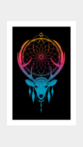 Deercatcher Art Prints
