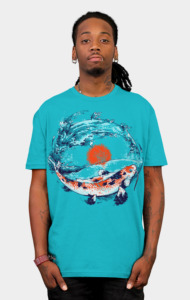 Playing Koi T-Shirt