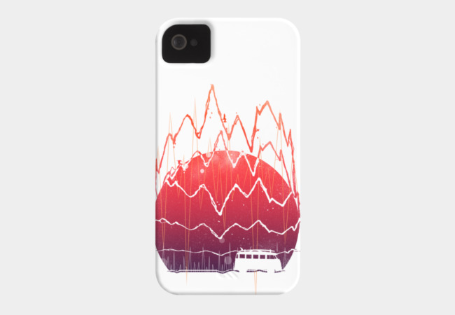 Soundset Phone Case - Design By Humans