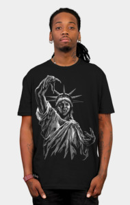 Weeping Liberty T-Shirt