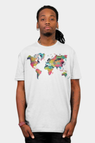 World Map Tropical