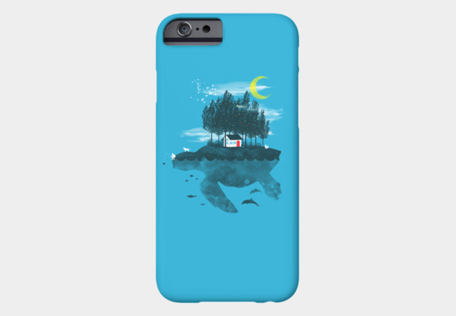Moving Island Phone Case - Design By Humans