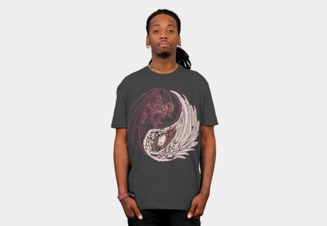 Yin Yang T-Shirt - Design By Humans