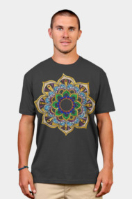 Mandala VII- Gold & Gemstones