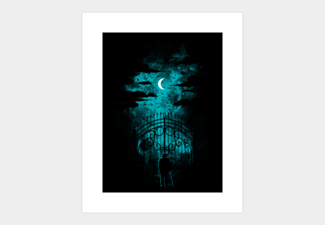 Gates Of Heaven Art Print - Design By Humans