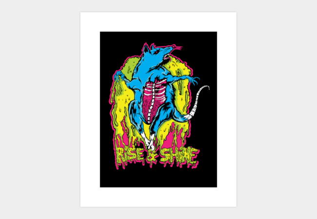 You Dirty Rat! Art Print - Design By Humans