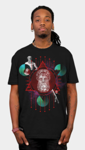 Geometric Gods I Men's