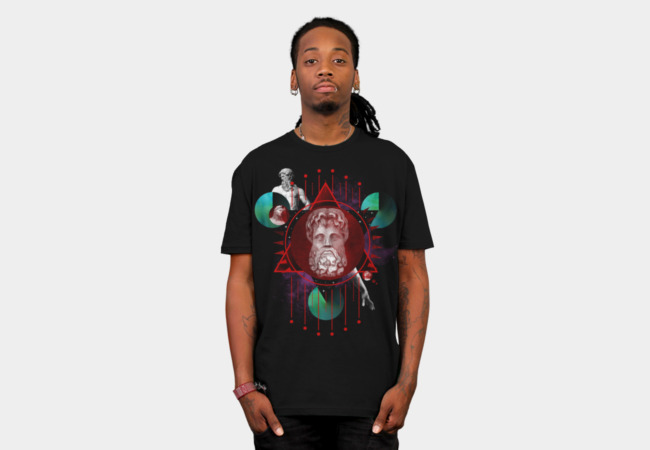 Geometric Gods I T-Shirt - Design By Humans