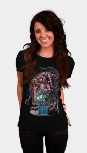 T-Rex Vs The Tardis Women's