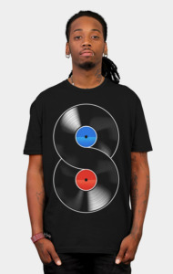 The infinite vynil T-Shirt