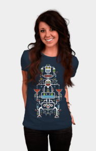 Mechanical Totem T-Shirt